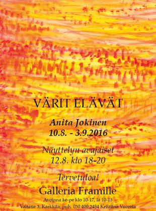 Anita Jokinen A4 Kutsu